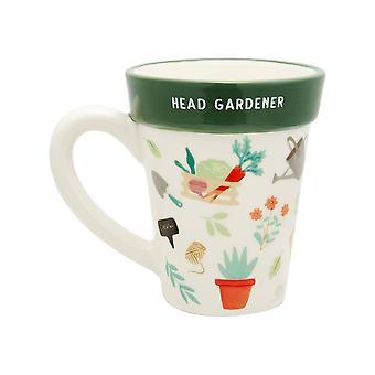 Sass &Belle Leafy Living Plant Pot Mug