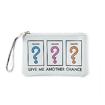 Monopoly Chance Zipped Coin Purse with Wrist Strap