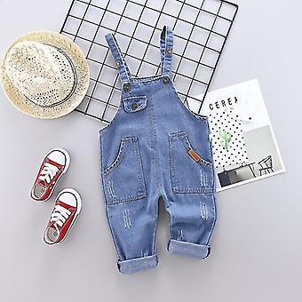 Overalls cotton cartoon pattern camisole pants