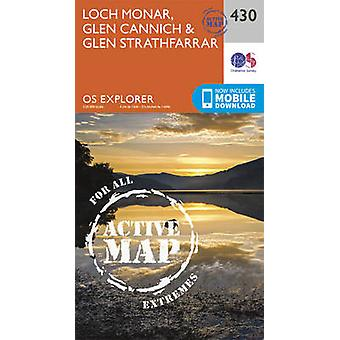 Loch Monar Glen Cannich en Glen Strathfarrar