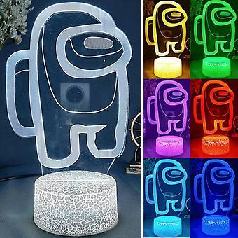 Unter uns LED Nachtlicht Sensor Schreibtisch Lampe Touch Switch Schlafzimmer Kinder Geschenke Dekor
