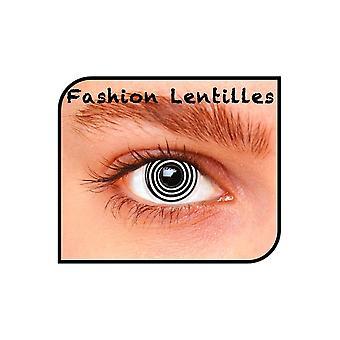 Spezialeffekt Kontaktlinsen Tageslinsen Spirale