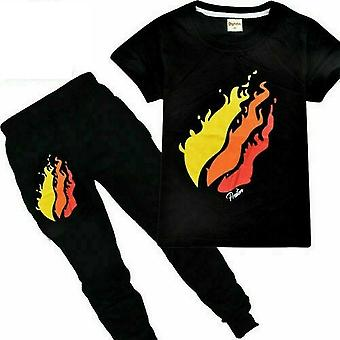 Boys  Casual T Shirt And Trousers