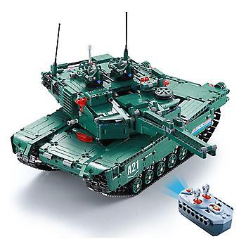 Technische moderne militaire radio afstandsbediening Abrams main battle tank blok