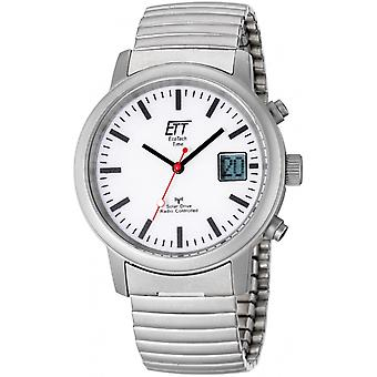 ONE (Eco Tech Time) Silver Stainless Steel EGS-11187-11M Men's Watch
