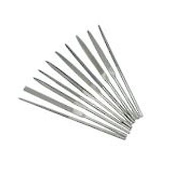 Modelcraft Needle File Set - 10 Assorted Files