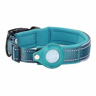 Collier de positionnement pour chien en nylon Housse de protection Airtag Tracker appropriée