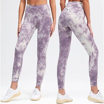 Pantalones de yoga flaco de cintura alta para mujeres Pantalones de fitness sexy