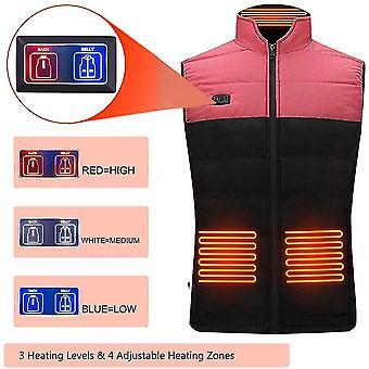 Electric Heated Vest Thermal Vest Winter Vest Warm Jacket For Outdoor Activities