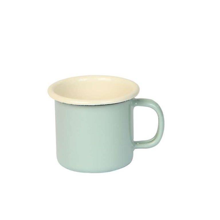 Dexam Vintage Home Emaille Espresso Tasse, Salbeigrün