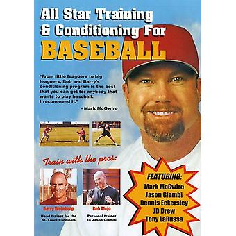 All Star Training & Conditioning for Baseball [DVD] USA import