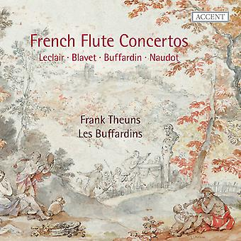Leclair, J. / Naudot, J. / Corrette, M. - French Flute Concertos [CD] USA import