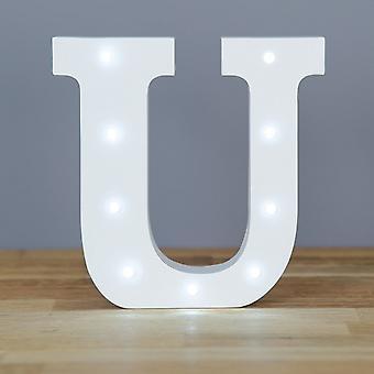 Lettre de LED - Yesbox lumières lettre U