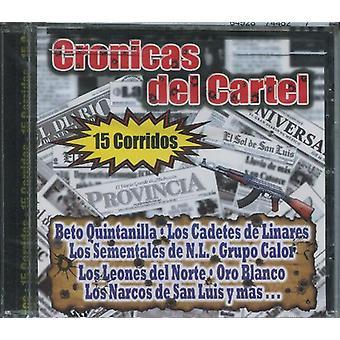 Cronicas Del Cartel - 15 Corridos [CD] USA import
