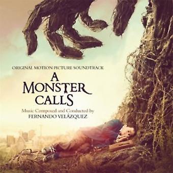 Fernando Velazquez - A Monster Calls - Soundtrack [CD] USA import