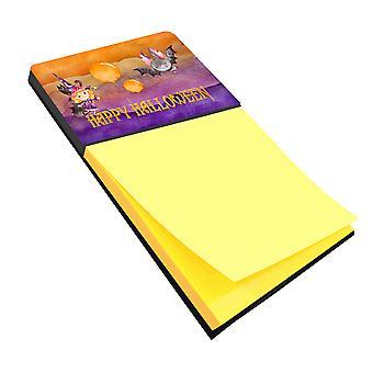 Каролинских сокровища BB7458SN Хэллоуин маленькая колдунья и волшебный рукокрылых записки держатель
