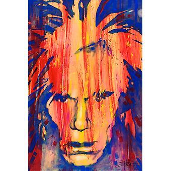 Andy Warhol - Stephen Fishwick Poster Poster Print