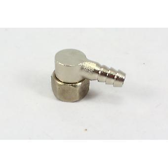 قطعة الكوع دش غرفة البخار الذكور للأنابيب-1/2 بوصة موصل نهاية موصل خرطوم الشائكة | 90 درجة