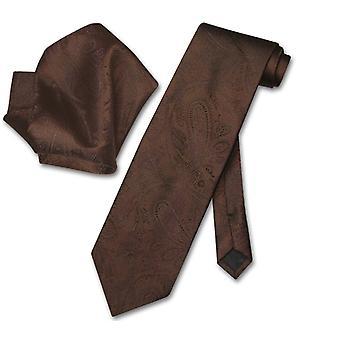 Vesuvio Napoli PAISLEY slips & näsduk matchande slips Set