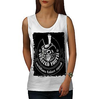 Wasted Youth Dead Women WhiteTank Top | Wellcoda