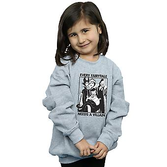 Disney Girls Every Fairy Tale Needs A Villain Sweatshirt