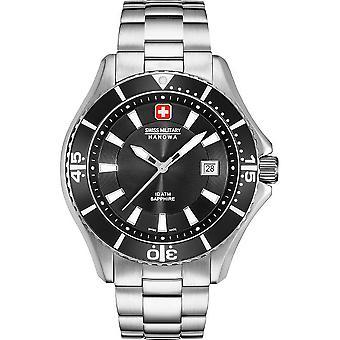 Suizo militar Hanowa reloj a Nautila caballeros 06-5296.04.007