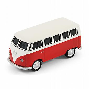 VW Camper Van Computer USB Memory Stick 16Gb - Red