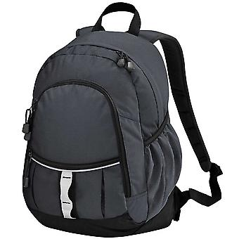 Quadra Unisex adultos multifacetado acolchoado mochila mochila único tamanho