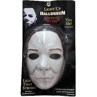 Michael Myers Horror Slasher Halloween The Shape Men Costume Mask & Wig (Faulty)