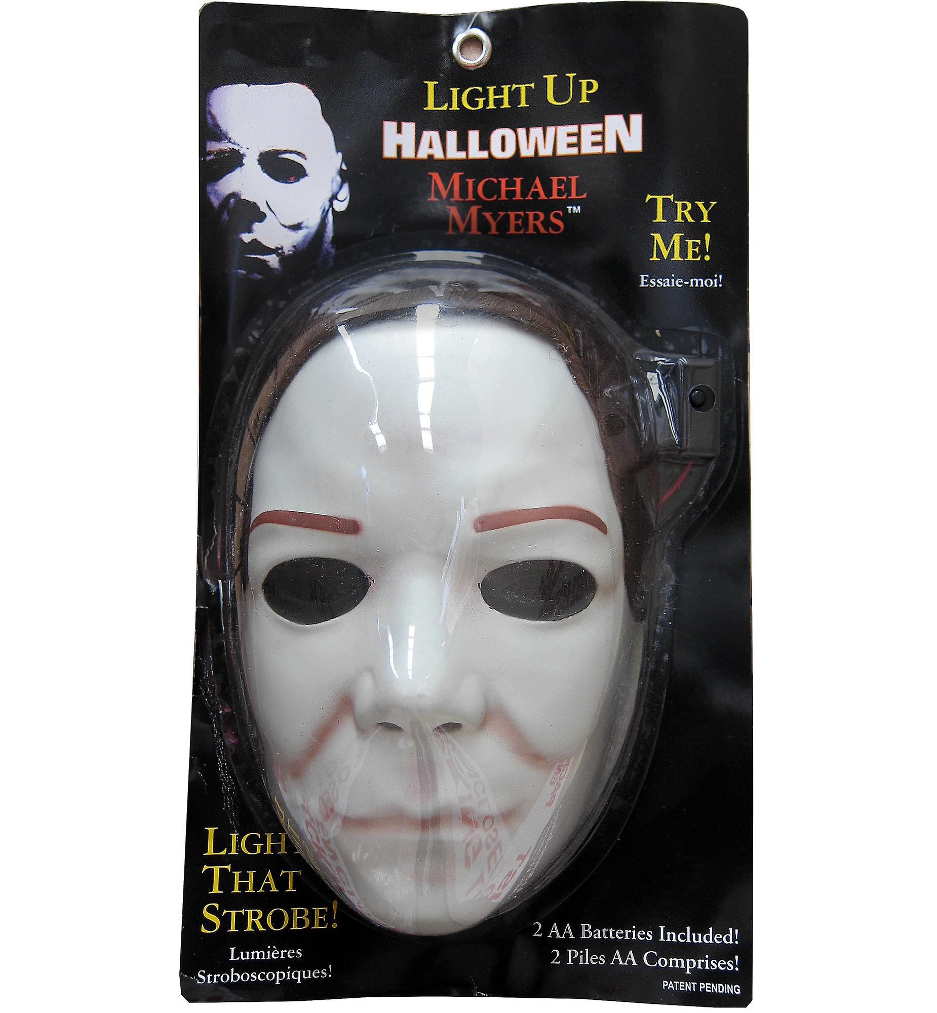 Michael Myers Horror Slasher Halloween The Shape Men Costume Mask & Wig (Faulty)