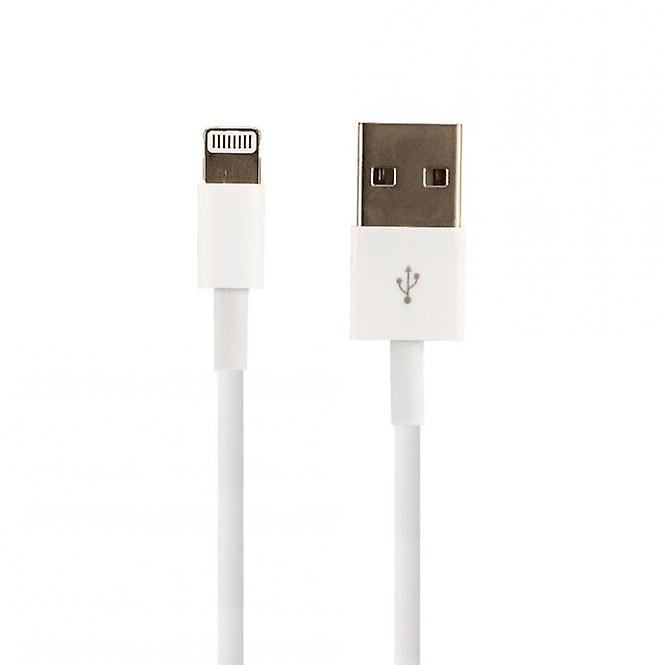 Original bulk Apple MD818ZM/A lightning charge cable, iPhone 5 / 5 s / SE, 2 x Matt screen protector