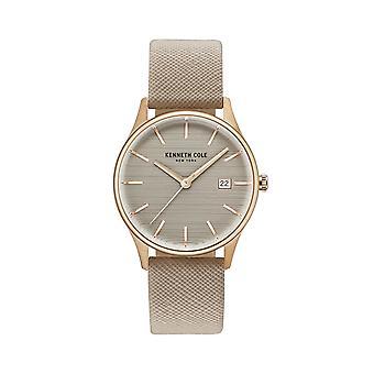 Kenneth Cole New York women's watch polshorloge leder KC15109003