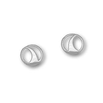 Sterling Silver perinteinen Contemporary Modern Etive Design pari korva korut-E1551
