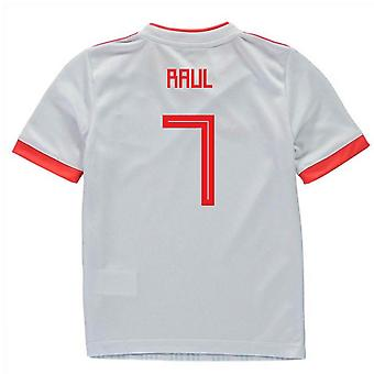 2018-2019 España Away Adidas Mini Kit (Raul 7)