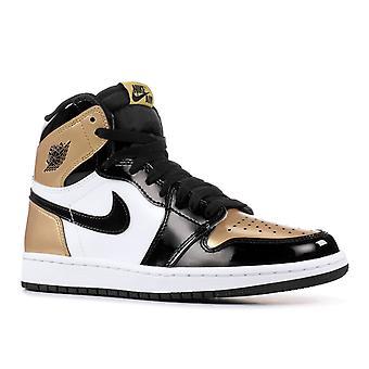 الهواء الأردن 1 Og عالية الرجعية معاريف 'إصبع الذهب'-861428-007-أحذية