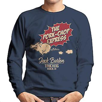 Big Trouble In Little China Inspired Pork Chop Express Men's Sweatshirt