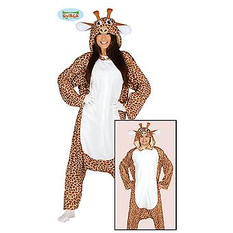 Giraffe Costume Adult Pajamas Africa savanna Lady costume giraffe costume
