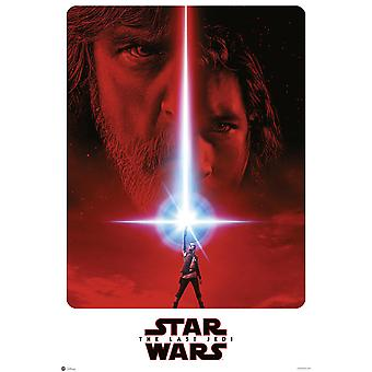 Teaser poster de Star Wars episodio 8 tamaño Onesheet