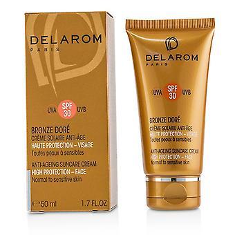 Delarom Anti-ageing Suncare Face Cream Spf 30 - For Normal To Sensitive Skin - 50ml/1.7oz