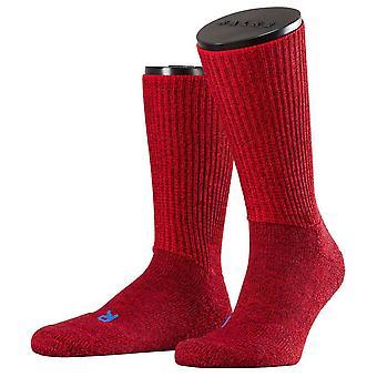 Ergo Midcalf sokken van Falke Walkie - Scarlet Red