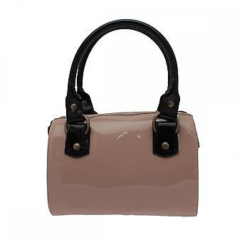 Renata Women's Patent Bowling Style Handbag
