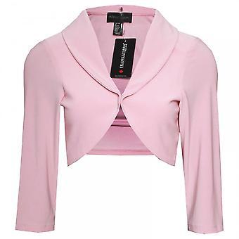 Frank Lyman 3/4 Sleeve Jersey Bolero Jacket