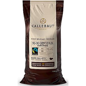 Callebaut Fairtrade Extra Bitter Dark Chocolate 70% Callets