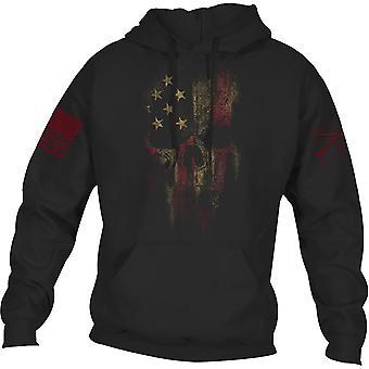 Grynt stil Reaper 2.0 Pullover hettegenser - svart