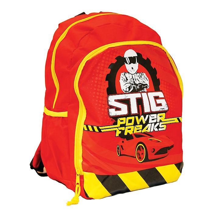 Top Gear 'The Stig' Kids School Rucksack Bag