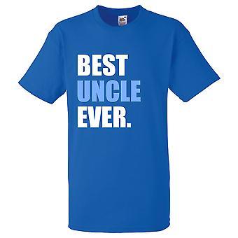 Königsblau beste Onkel immer Tshirt