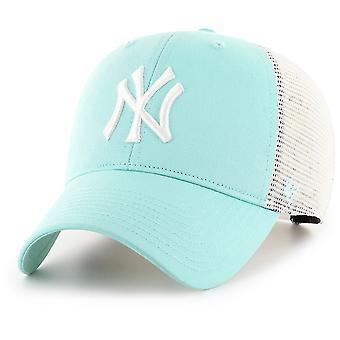 47 Brand Trucker Cap-FLAGSHIP NY Yankees Aqua