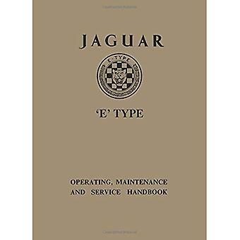 Jaguar E-Type 3.8 Series 1 Handbook (officiële eigenaars handboeken)