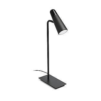Faro - Lao Black LED Adjustable Table Lamp FARO29047