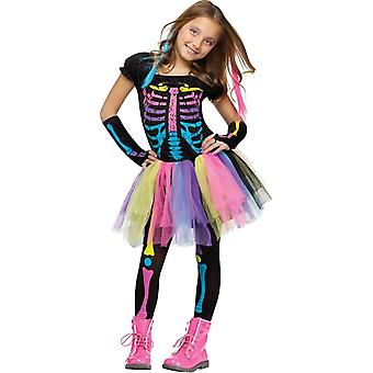 Funny Skeleton Child Costume